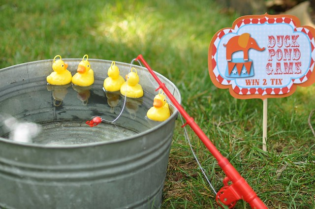 ... carnival birthday party games duck pond game | Flickr - Photo Sharing