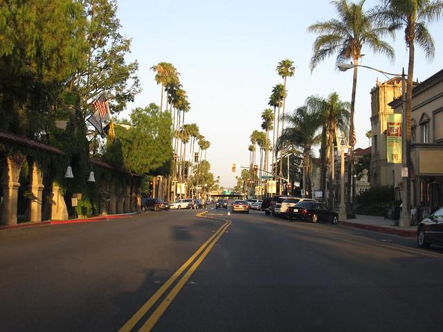 Downtown Riverside, California