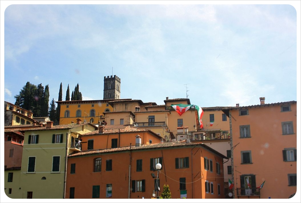 Barga houses & cathedral
