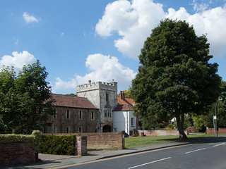 Image of Cawood Castle. allsaintschurch cawood 1facebook cawoodcastle 1flickr elementsorganizer 1keithlaverack