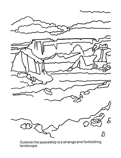 Planet of the Apes Coloring Book 0100010