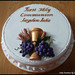 Holy Communion Cake by lucienne curmi