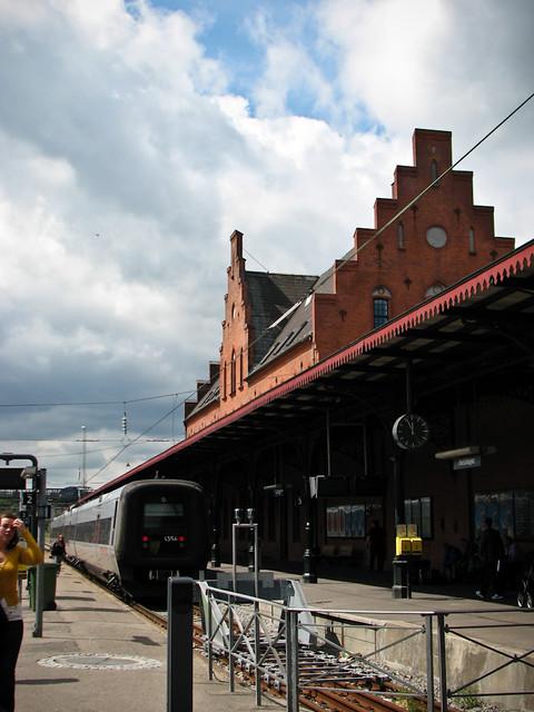 Электричка Копенгаген - Хельсингёр