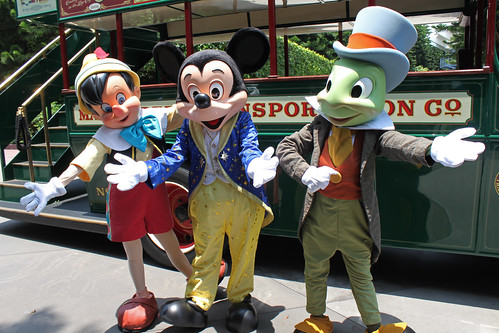 Joining Mickey and Friends to be Grand Marshals in the Parade!