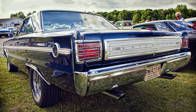 1966 Plymouth Belvedere II at Au Gres