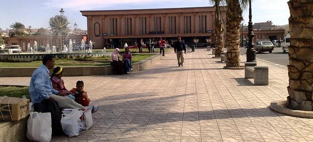 Railway Station, Aswan