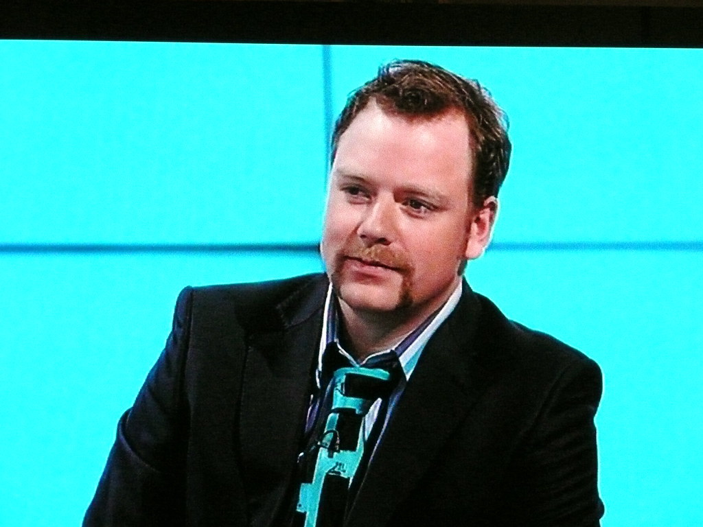 Rufus Hound on Would I Lie To You (screen shot)