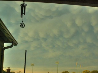 Mammatus Clouds Following Monday Storm