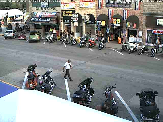 The 71 st Sturgis Motorcycle Rally is almost underway.