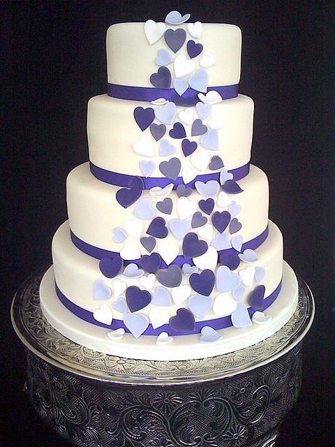 Purple Hearts Wedding Eliya's blo...