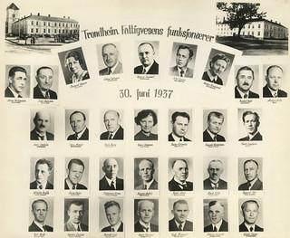 Trondheim Fattigvesens Funksjonærer (1937)