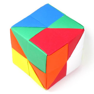 How to make a traditional origami cube | Flickr - Photo ... - photo#38