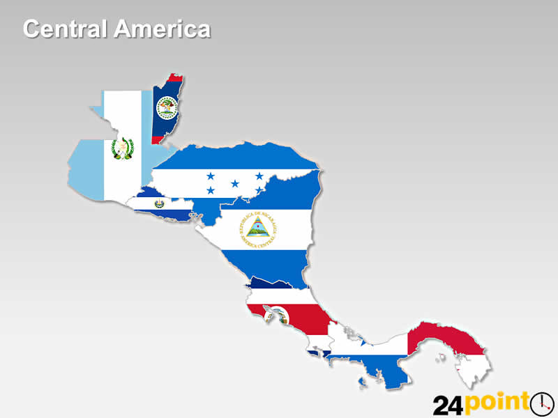Central America Flag   A Map | An editable map of Central Am… | Flickr