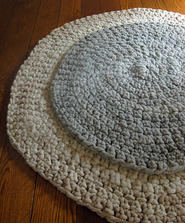Big Stitch Crocheted Rug