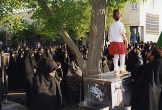 Yazd, Ashura parade