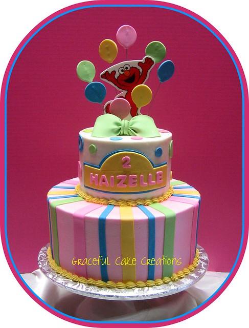Elmo Birthday Cake Pictures