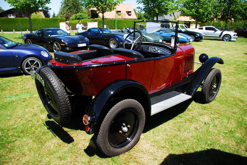 1925 Citroën C3 tréfle