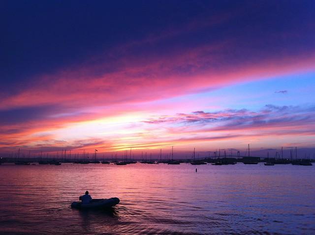 newport sunset 2
