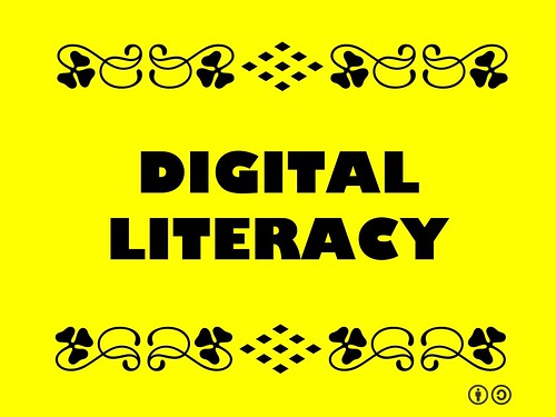 Buzzword Bingo: Digital Literacy = Ability to organize, understand and analyze information using digital technology #buzzwordbingo