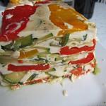 ©Weißes Gemüsegelee mit Basilikumvinaigrette 001