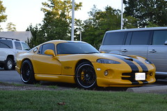 hennessey viper venom 1000 twin turbo(0.0), muscle car(0.0), race car(1.0), automobile(1.0), dodge(1.0), wheel(1.0), vehicle(1.0), performance car(1.0), automotive design(1.0), chrysler viper gts-r(1.0), land vehicle(1.0), srt viper(1.0), supercar(1.0), sports car(1.0),
