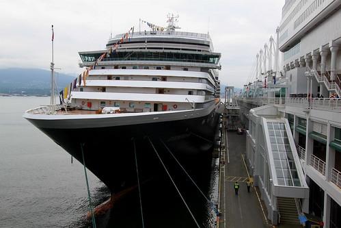 Holland America Lines' MS Zuiderdam