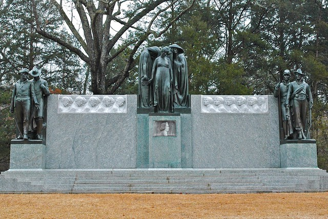 Confederate Monument Shiloh National Military Park Tn