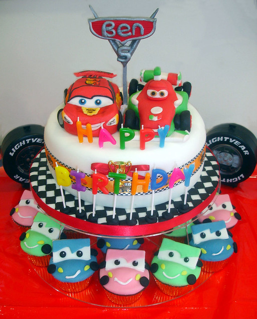 Cake Design Cars Disney : Disney Cars Cakes - a gallery on Flickr