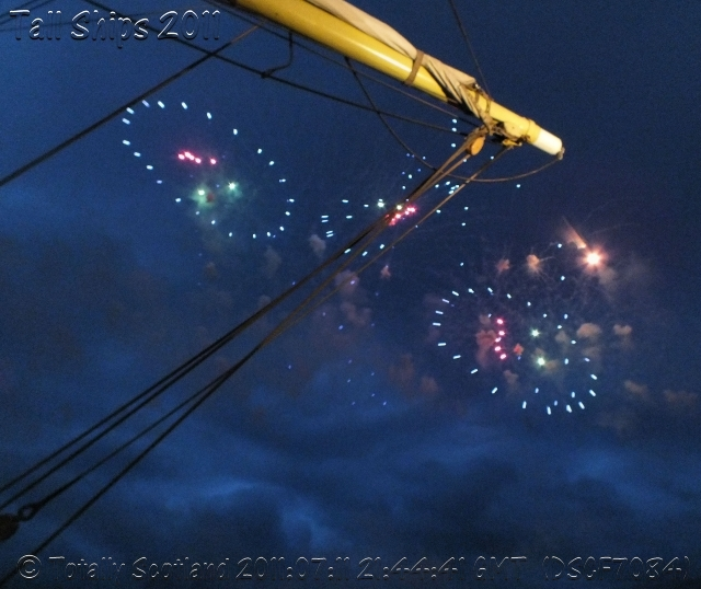 Greenock fireworks 8/11