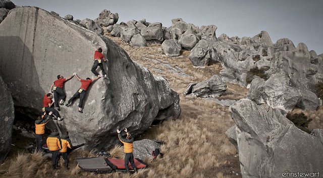 2011 Castle Hill - are there infinite grey boulders? on Vimeo by derek thatcher