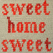 Whit's Knits: Sweet Home Sweet Pillow by the purl bee