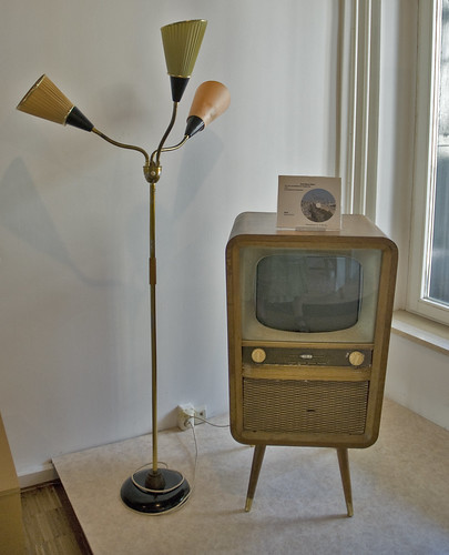 1950 - 60 Television and lamp