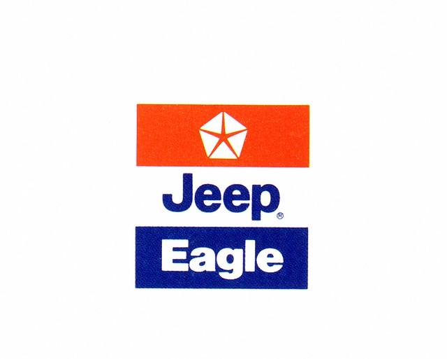 1988 chrysler jeep eagle logo flickr photo sharing