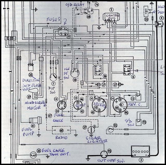 austin healey wiring diagram 1966    austin       healey    3000    wiring    flickr photo sharing   1966    austin       healey    3000    wiring    flickr photo sharing