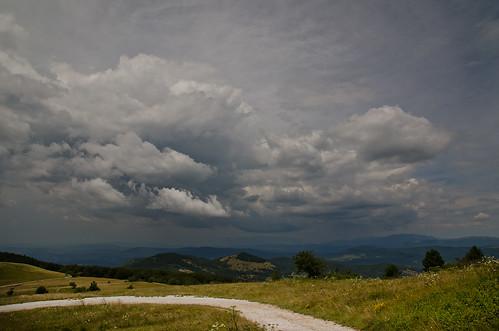 day cloudy slovenia slovenija slavnik kozina taiano