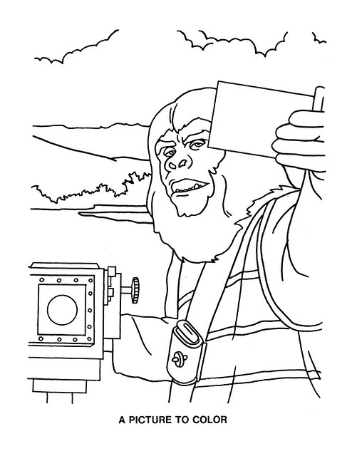 Planet of the Apes Activity Book 0100012