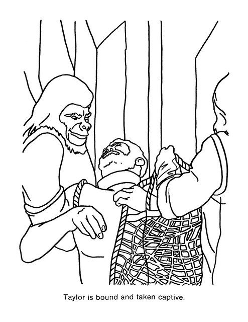 Planet of the Apes Coloring Book 0100036