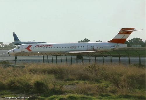 AUSTRIAN OE-LMM MD-87 (ATH'92)