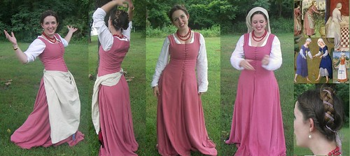 Pink kirtle finished