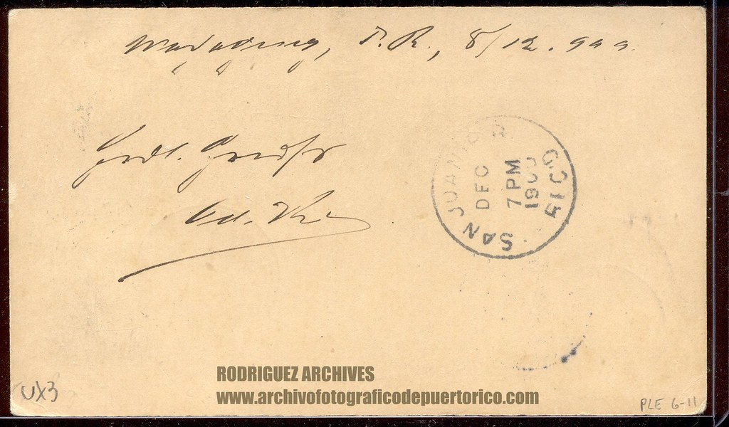 US Postal Card With Puerto Rico Overprint And 1c Stamp Added