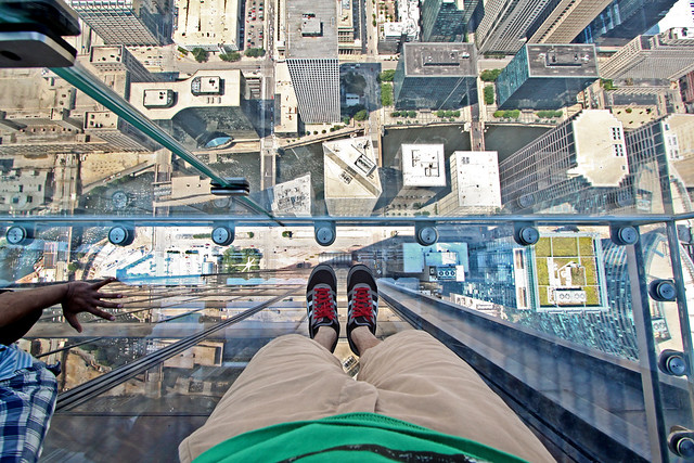 No One Could Tell Even If I Fell 100 Stories Down