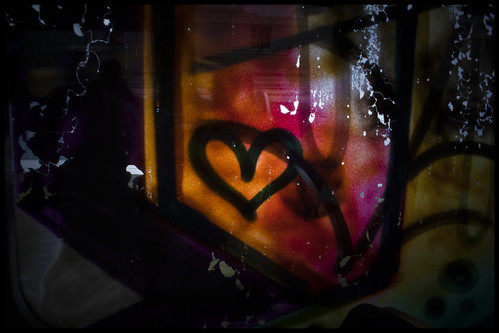 Graffiti, inside out ;)