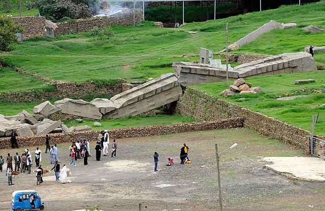 Fallen Stelae, Axum, Ethiopia