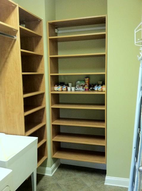 adjustable wood pantry shelves flickr photo sharing. Black Bedroom Furniture Sets. Home Design Ideas