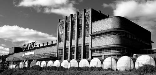 Abandoned Modernist Oak Factory, Parkville, NSW.