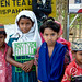 Indigenous Kids Outside Srimongal - Bangladesh