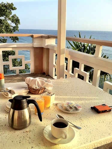 ocean blue mountain coffee sunrise view july couples jamaica css ocho resorts rios sans souci ochorios 2011 bluemountaincoffee couplessanssouci