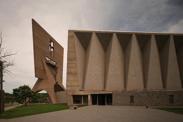 Marcel breuer st john 39 s abbey church collegeville minnesota 1958 61 - Marcel breuer architecture ...