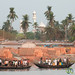 Brick Fields and Mosque - Khulna, Bangladesh