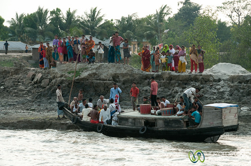 Old Boat, River Transport - Near Khulna, Bangladesh